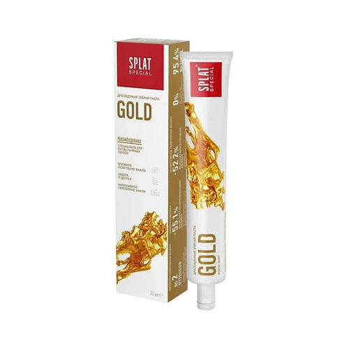 Splat Splat Отбеливающая зубная паста Золото 75 мл (Splat, Special)
