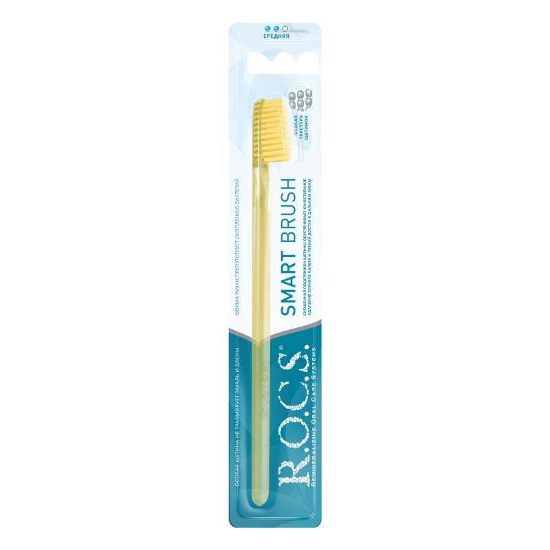 Купить R.O.C.S. Зубная щётка Классическая средняя, 1 шт. (R.O.C.S., Зубные щетки), Россия