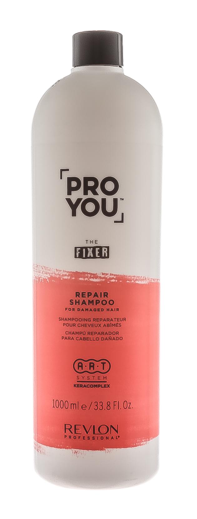 Купить Revlon Professional Шампунь восстанавливающий для поврежденных волос Repair Shampoo, 1000 мл (Revlon Professional, Pro You), США