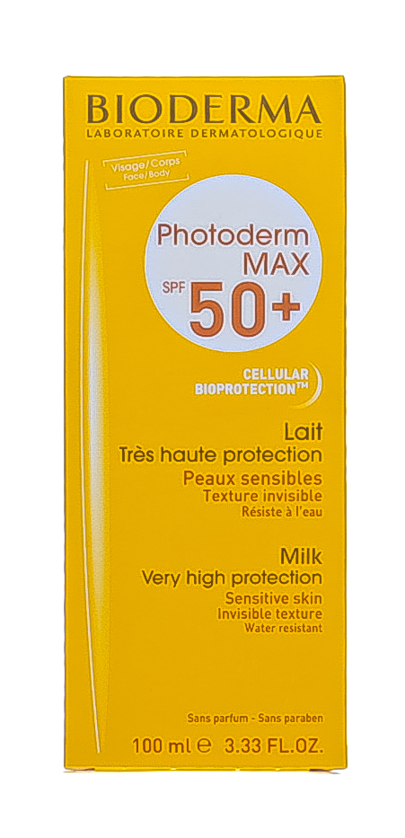 Биодерма Молочко Фотодерм Мах SPF 50+, 100 мл (Bioderma, Photoderm) фото 1