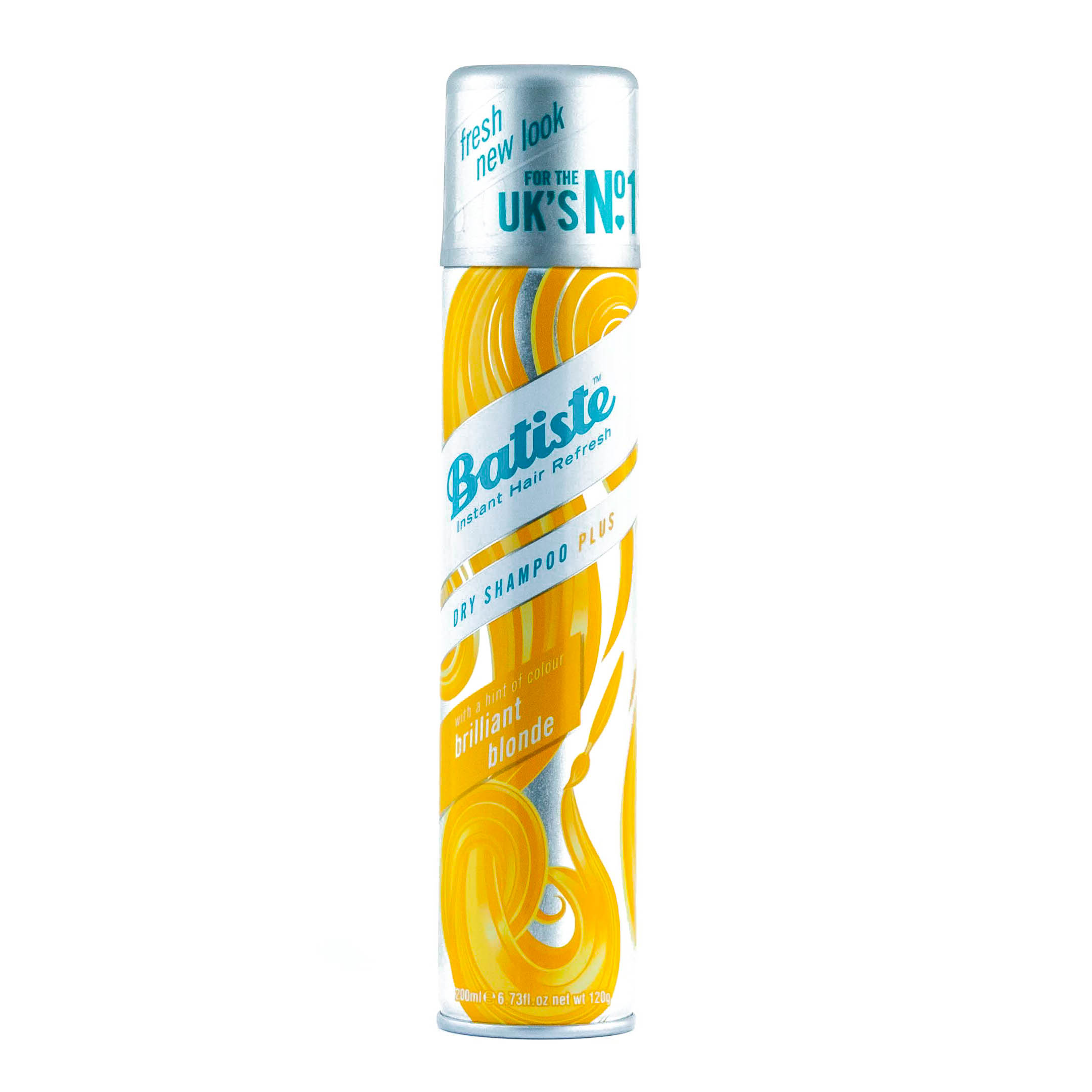 Batiste Light Brilliant Blonde Сухой шампунь 200 мл (, Dry Shampoo Plus)