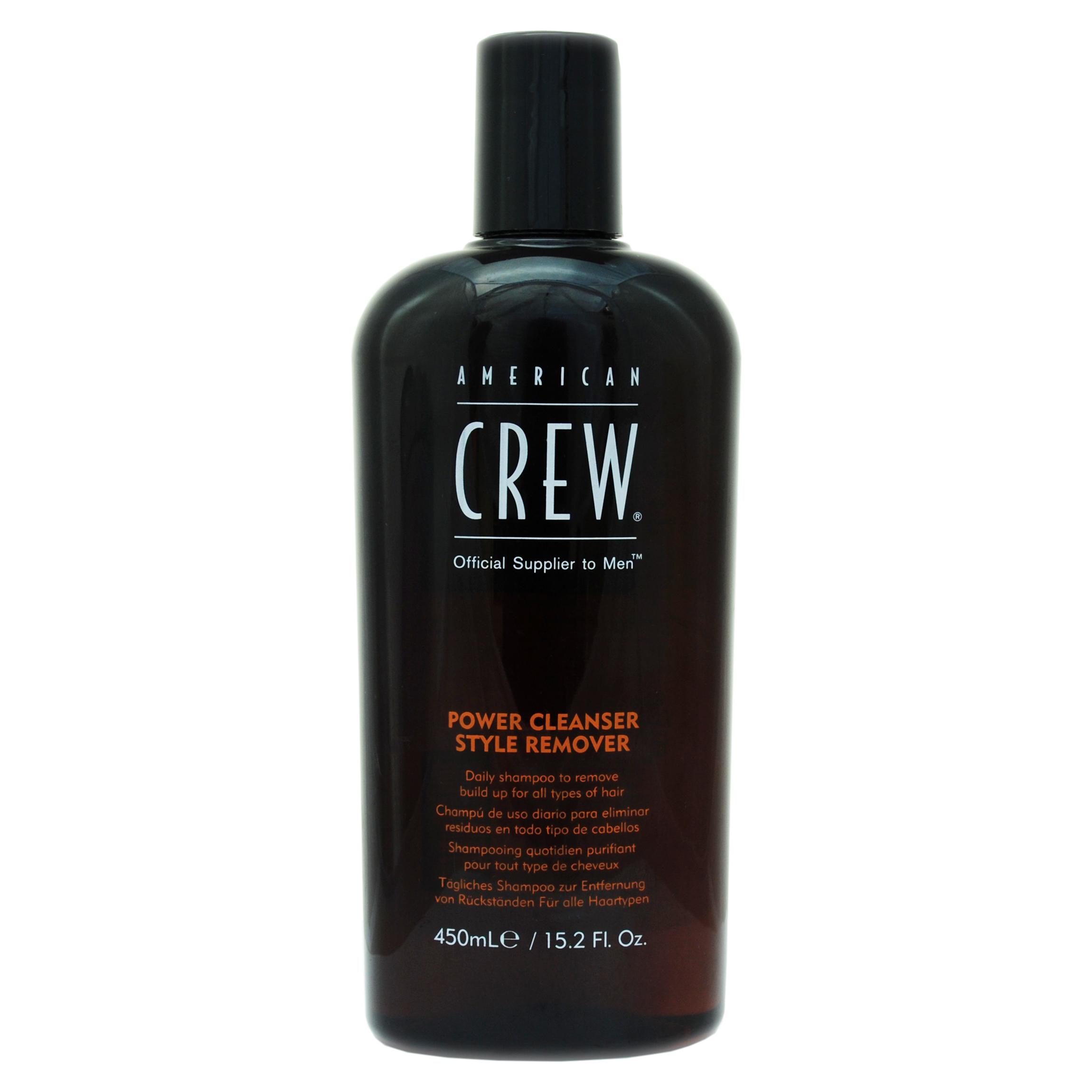 American Crew Шампунь для ежедневного ухода, очищающий волосы от укладочных средств 450 мл (American Crew, Для тела и волос) american crew power cleanser style remover ежедневный очищающий шампунь 250 мл american crew для тела и волос