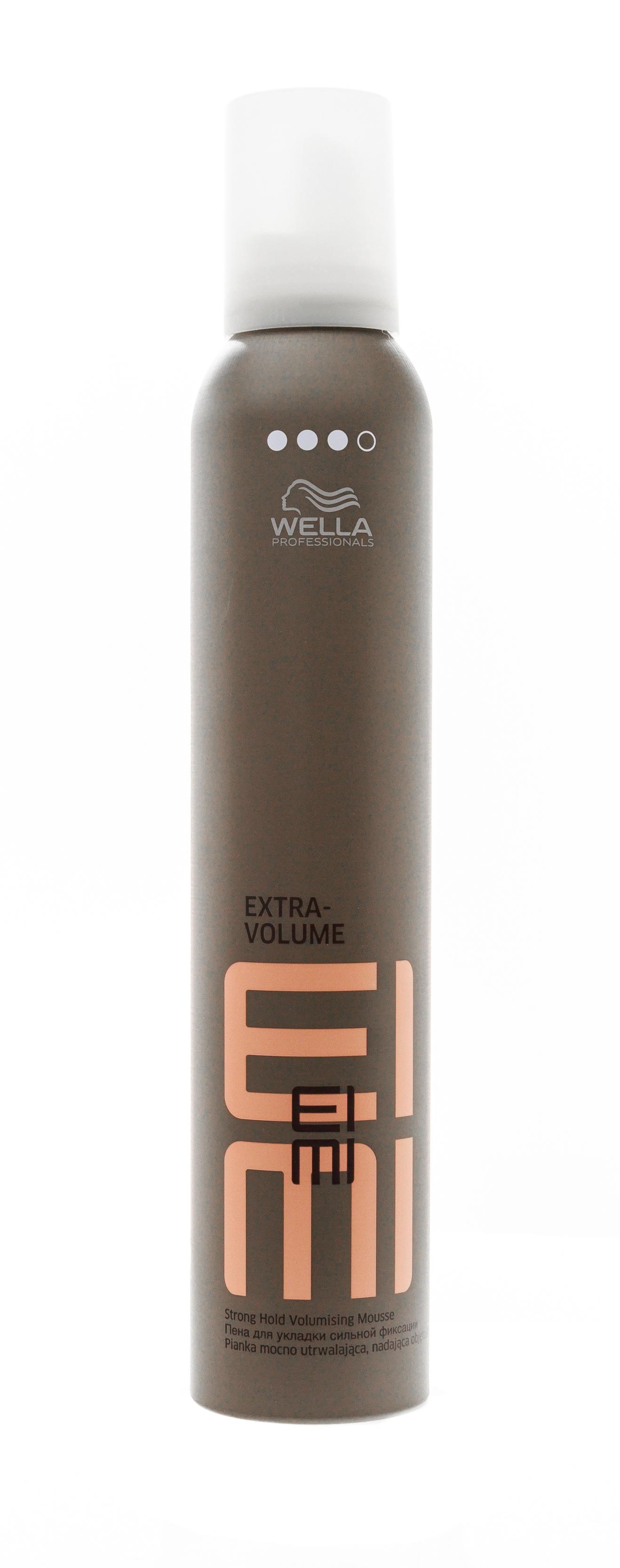 Wella Professional Пена для укладки сильной фиксации, 300 мл (Wella Professional, Eimi Объем)