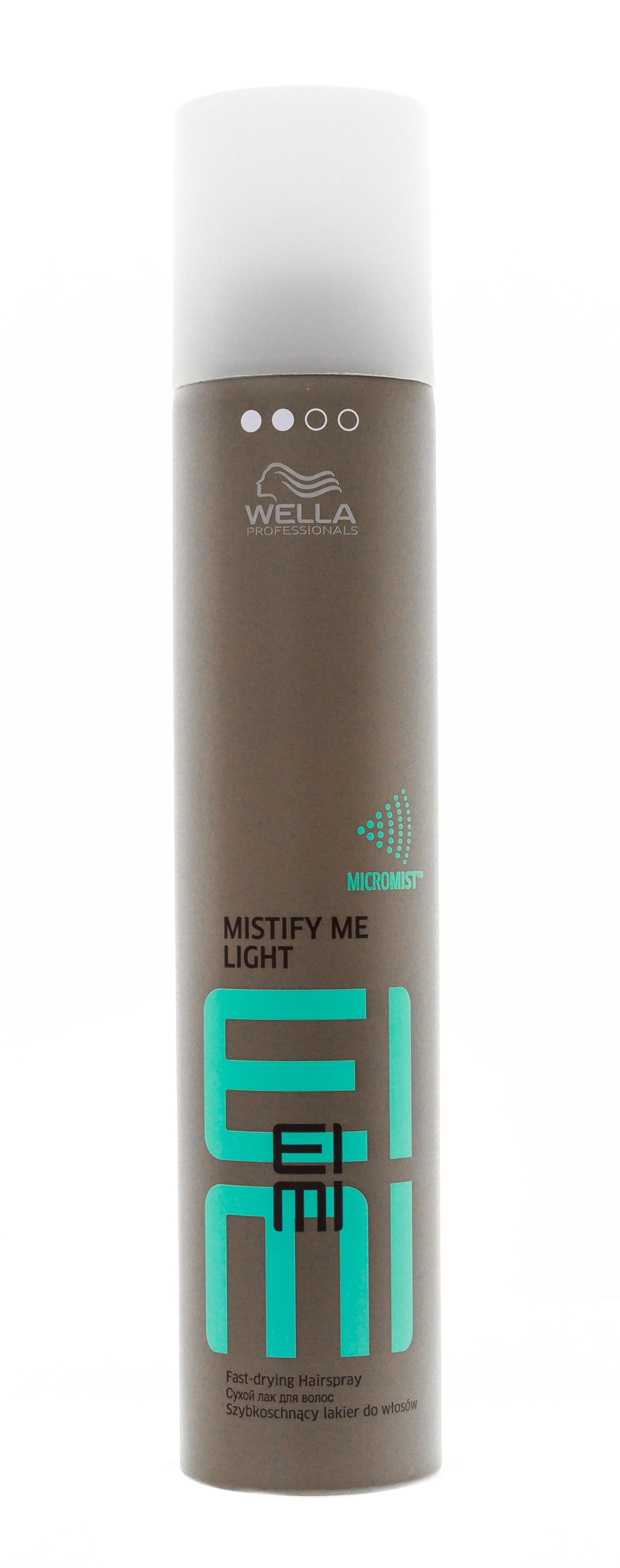 Wella Professional Сухой лак легкой фиксации, 300 мл (Wella Professional, Eimi Фиксация)
