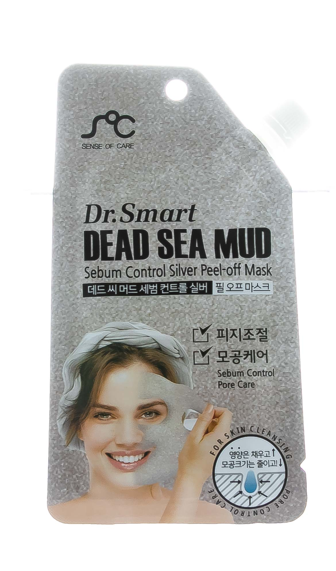 Купить Dr. Smart Маска-пленка с грязью мертвого моря, 25 мл (Dr. Smart, )