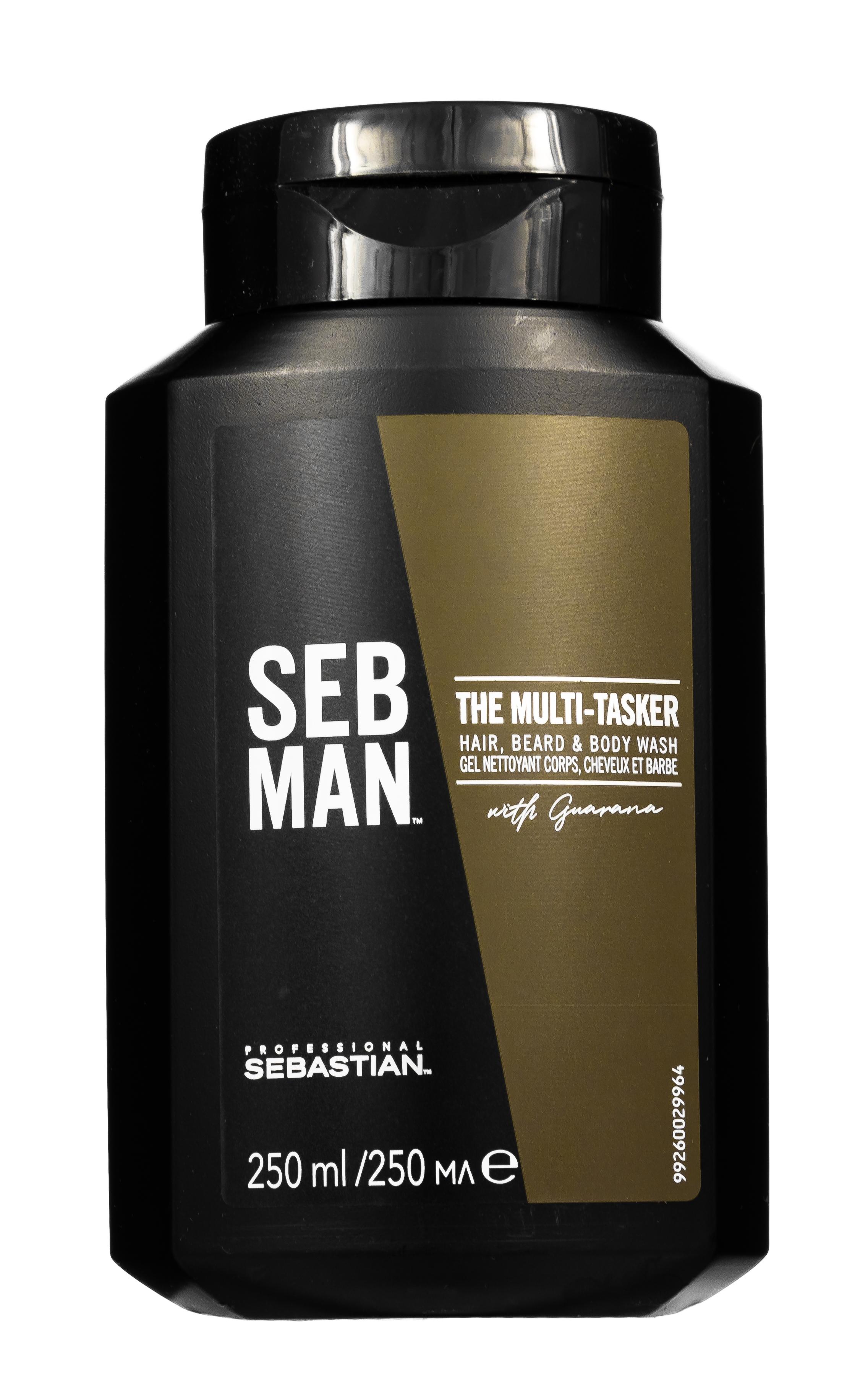 Sebman 3 в 1 шампунь для ухода за волосами, бородой и телом 250 мл (Sebman, Для волос)