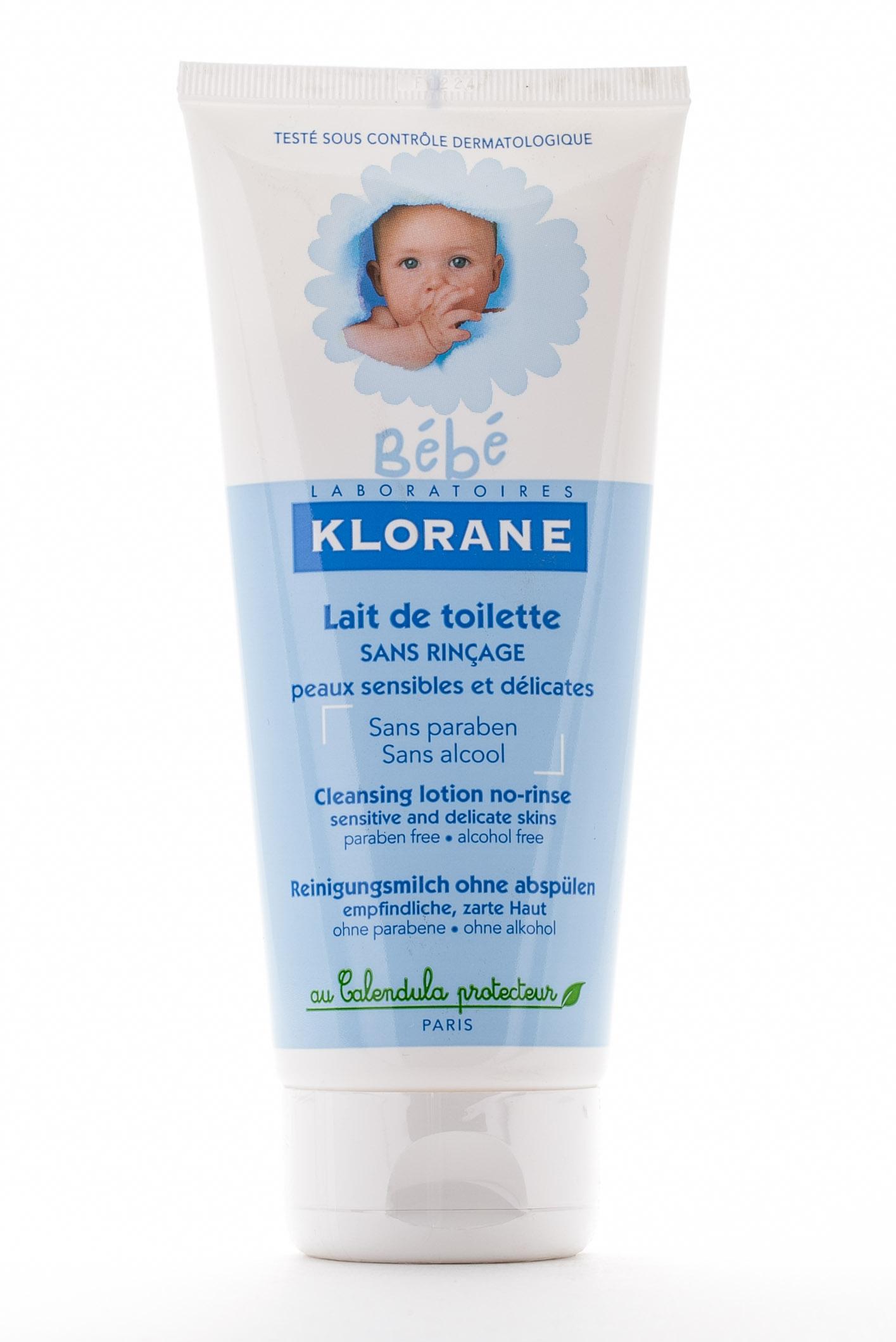 Детское Туалетное молочко с Календулой 200мл (Klorane, Klorane Bebe) где купить шампунь klorane