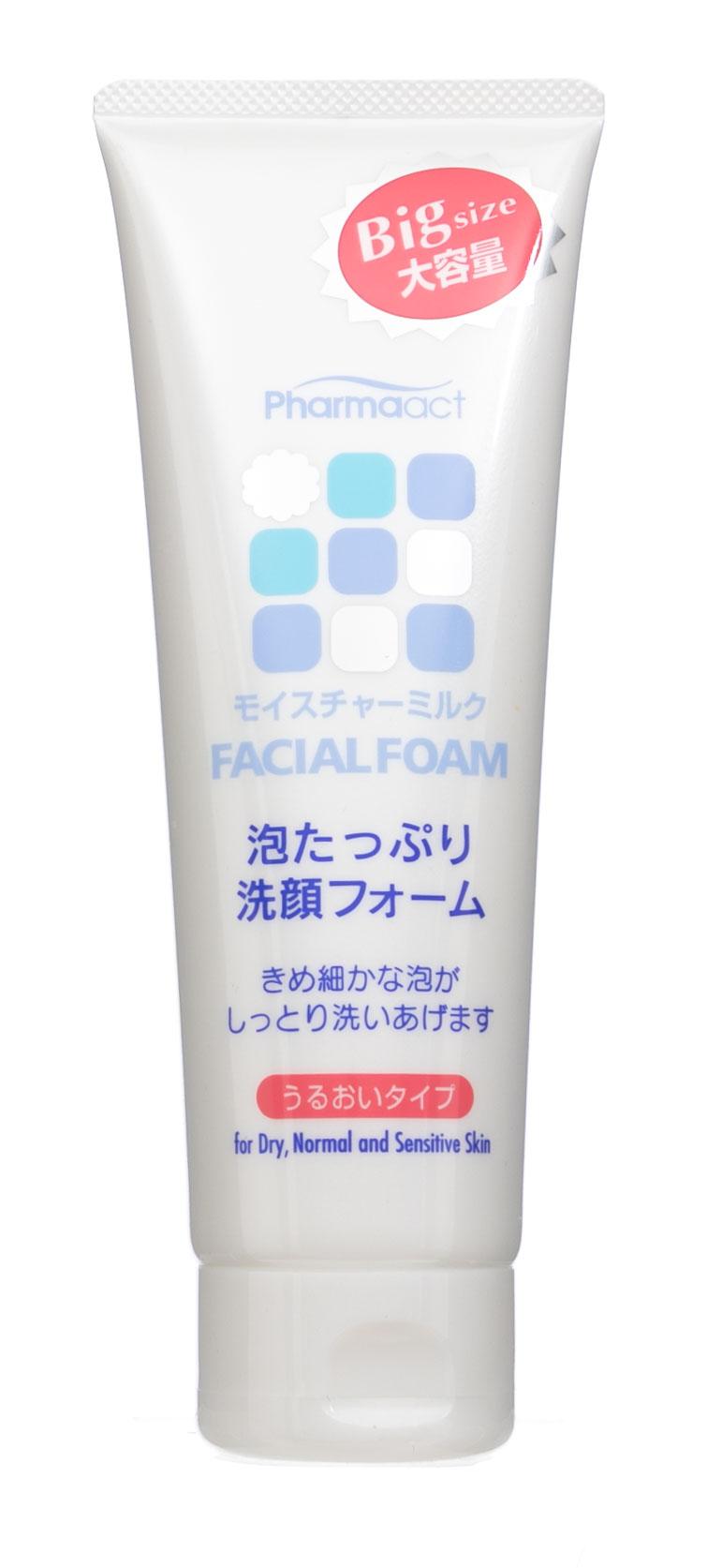 Купить Kumano cosmetics Пенка д/умывания с увлаж молочком Pharmaact 160мл (Kumano cosmetics, Косметика для умывания), Япония