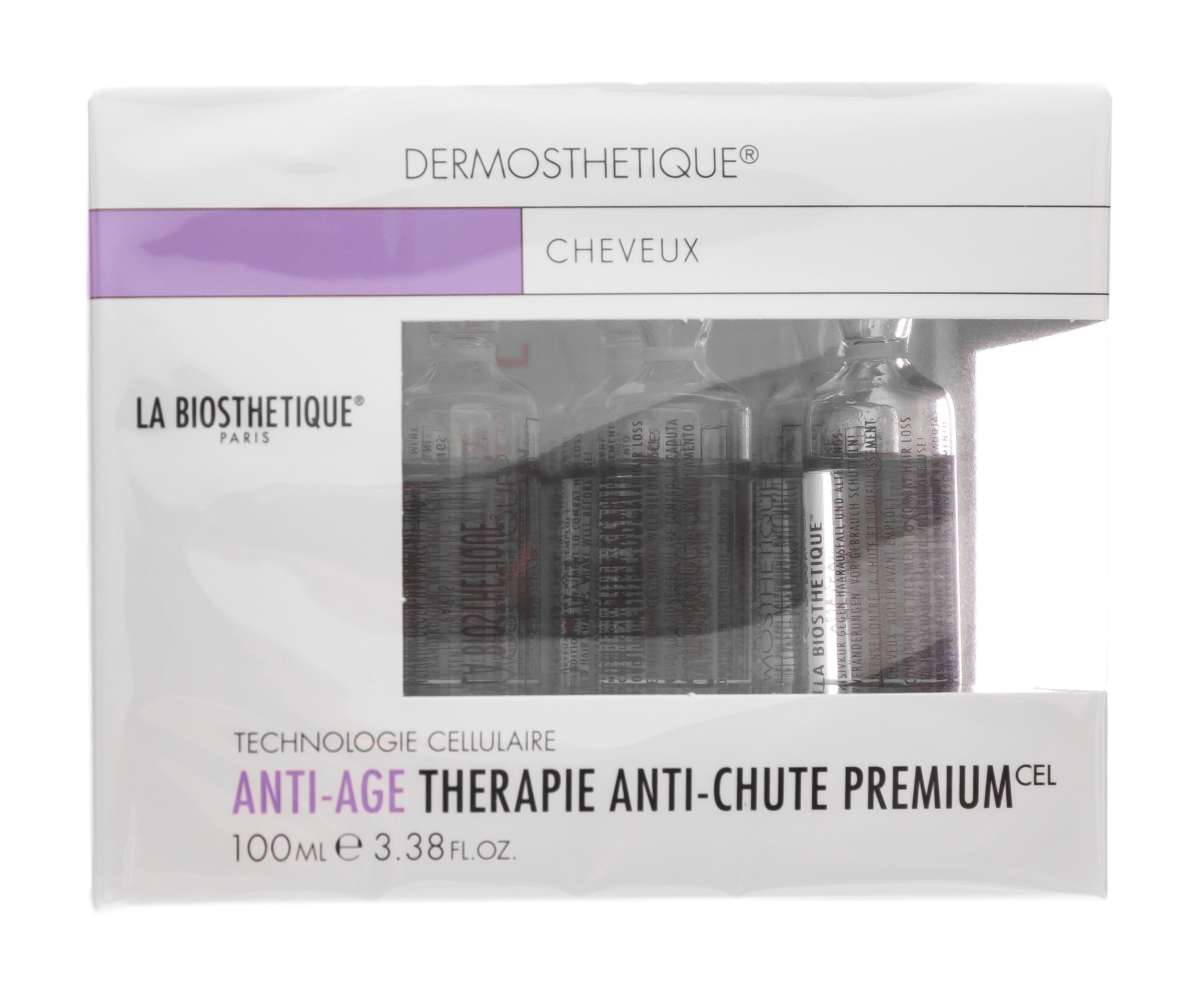 LaBiosthetique Therapie Anti-Chute Premium Клеточно-активный интенсивный уход против выпадения и истончения волос 10 ампул (LaBiosthetique, Выпадение волос)