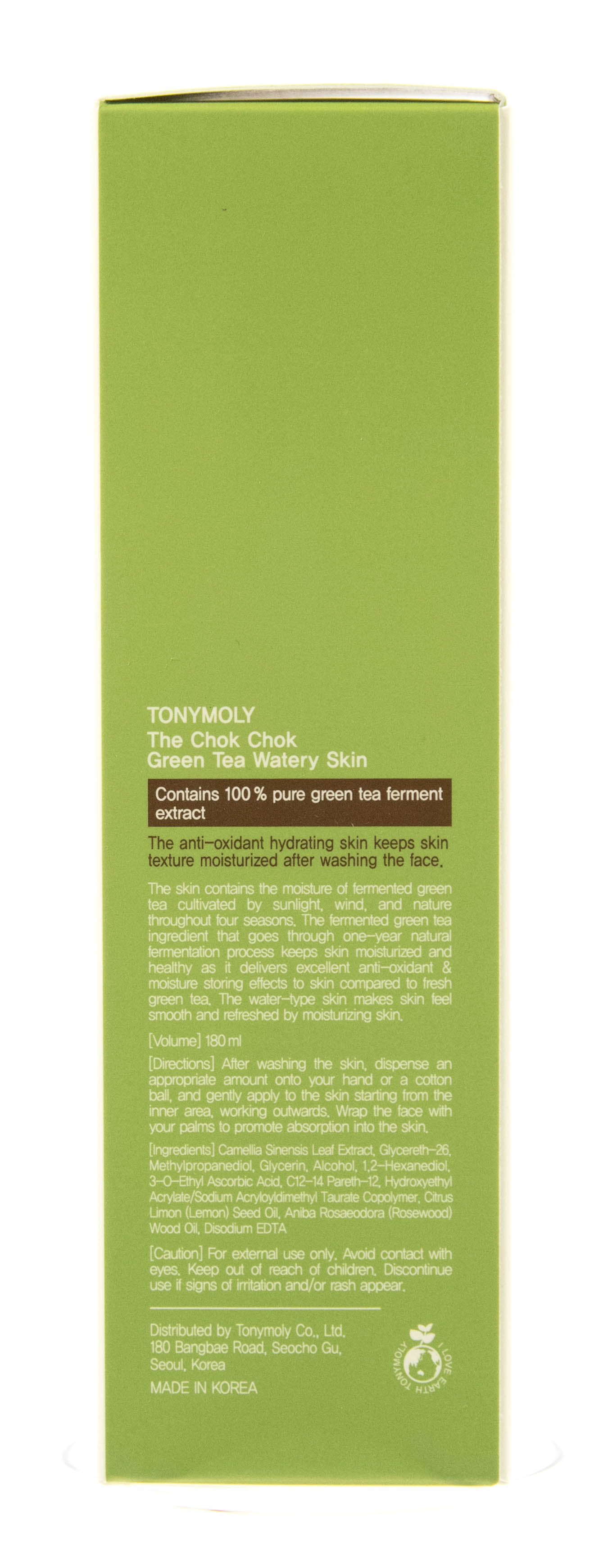 Тони Моли Лосьон с экстрактом зеленого чая 180 мл (Tony Moly, Green Tea) фото 4